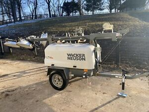 Wacker Nueson Ltn6 Diesel Light Tower generator