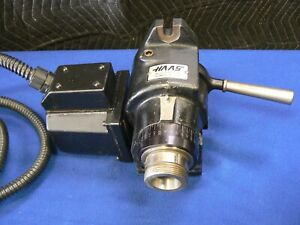 Haas 5c 7 Pin Rotary Indexer 4th Axis With Manual Closer Tested Good