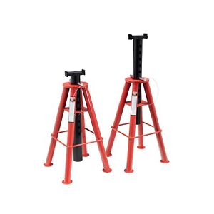 Sunex 1410 Jack Stands Pair 10 Ton High Height Adjustable Pin Type Automotive