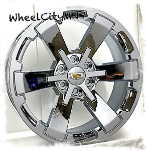 22 Inch Chrome 2018 Cadillac Escalade Oe Replica 5662 Wheels 6x5 5 24 New 4x