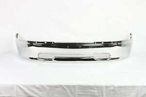 Damaged Chrome Steel Front Bumper Bar For 2009 2012 Dodge Ram 1500 Series D4360