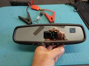 Nissan Infiniti Gntx 453 Green Compass Temp Homelink Rearview Mirror Auto Dim