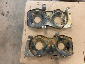 1963 Ford Galaxie 500 Xl Headlight Mounting Buckets Brackets Pair Lh Rh Lights
