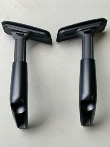 Used Genuine Haworth Zody Chair Arm Replacement Parts Black 4d Adjustable Arms