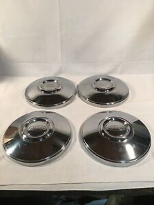 Ford Crown Vic Police Car Hubcaps Vintage Dog Dish Hubcaps