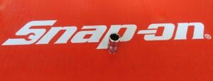 Snap On Tools 1 4 Drive 8mm Shallow 12 Pt Chrome Socket Tmmd8 Ships Free