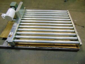 Hytrol Chain Driven Powered Roller Conveyor Section