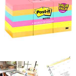 Post it Mini Notes 1 5x2 In 18 Pads America s 1 Favorite Sticky Notes Ca