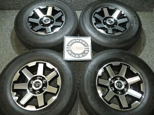 2020 4 Runner Trd Trail 17 Factory Wheels Tires Bstone Ht P265 70r17 Tacoma