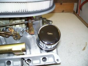 Ford Fe 390 427 428 Tri Power Or 2x4 And 4v Oil Fill Tube Cap