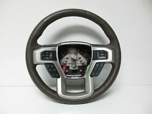 15 17 Ford F 150 Lariat Brown Steering Wheel W Control