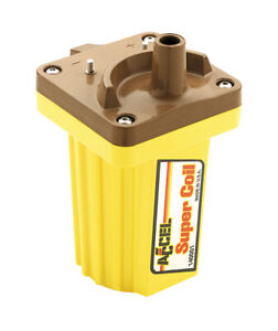 Accel 140001 Ignition Super Coil Yellow For Street strip 45 000v