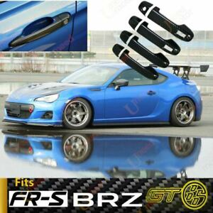 Fit Scion Subaru Toyota Fr S Brz Gt86 Door Handle Cover Trim Carbon Fiber Print