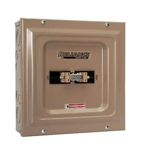 Reliance Controls Tca1006d Panel Link Transfer Surface Mount 60 Amps Gray New