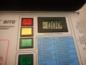 Avo Biddle Bite 2 Battery Impedance Test Equipment With Cords And Parts