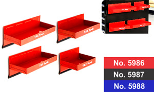 Magnetic Parts Tray 4pc Set Red For Toolboxes T E Tools 5986