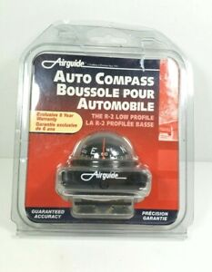 Vintage Airguide Compact Auto Compass 1516990 Brand New