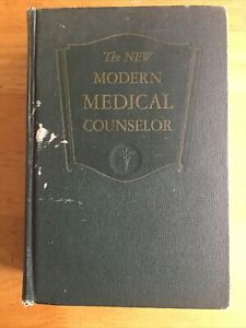 VINTAGE USED 1951 The New Modern Medical Counselor Hardback Book Pacific Press $11.99