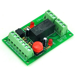 12vdc Panel Mount Momentary switch pulse signal Control Latching Relay