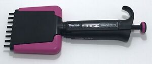 Thermo Finn F2 8 Channel Multichannel Pipette 0 5 10 l Cleaned Calibrated