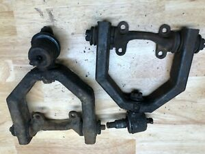 Triumph Tr3 Original Front Suspension Upper Control Arm Assembly Pair Used