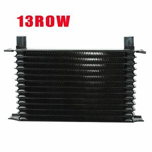 An10 13 Row Universal Alloy Racing Engine Transmission Oil Cooler