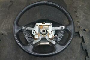 Driver Steering Wheel Leather 3w6z3600aaa Oem Ford Thunderbird 2002 05