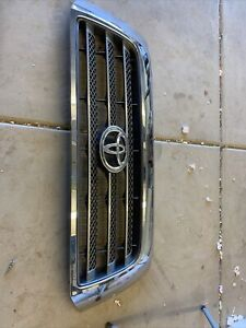 531000c150 2007 2008 Toyota Tundra Chrome Front Oem Grille