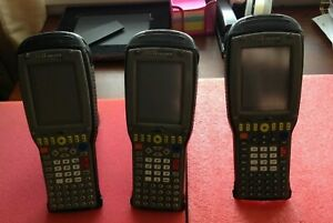 Qty 3 Psion Teklogix 7535 g2 Mobile Computer Barcode Scanner Untested ma12