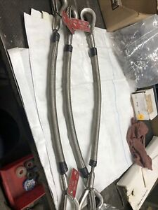 Ds a Corp 3 8 X 2 2 Leg Wire Rope Sling Lot Of 3