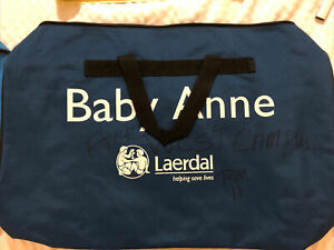 Laerdal Baby Anne Infant Cpr Manikins Soft Carry Case Duffle Storage Bag