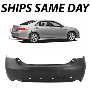New Primered Rear Bumper Cover Replacement For 2007 2011 Toyota Camry Se 07 11