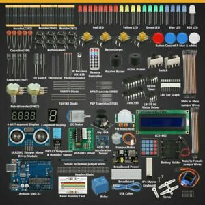 Professional Starter Learning Kit For Arduino Uno Servo Components Module Kit