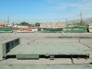 12x8 Ft Flat Bed Flatbed For Large Pickup Truck Or Trailer
