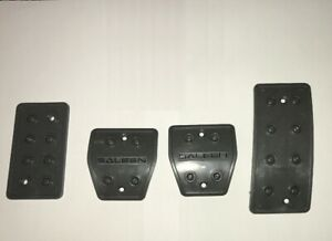 2005 2009 Saleen Ford Mustang Plastic Manual Trans Pedals Cover Set No Pads