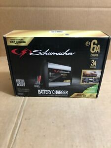 Schumacher Sc1301 6 12v Fully Automatic Battery Charger And 6a Maintainer