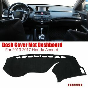 For 2013 2017 Honda Accord Dash Mat Dashmat Dashboard Cover Sun Cushion Carpet