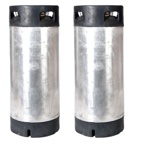 2 Pk 5 Gallon Pin Lock Kegs Reconditioned Homebrew Beer Coffee O ring Kit