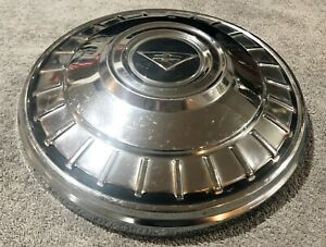 1962 1963 Chevrolet Corvair Chevy Ii 9 1 2 Chrome Dog Dish Poverty Hubcap