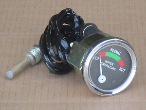 Temperature Gauge For Allis Chalmers Temp D10 D12 D14 D15 D17 H3 H4 Hd3 Hd4