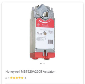 Honeywell Ms7520a2205 Direct Coupled Actuator 175lb Spring Return new