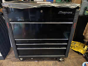 Snap On Tools Krsc42f1pc Diagnostic Station Tool Roll Cart Black Like New