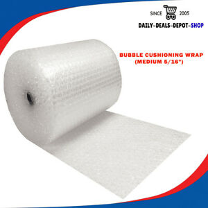 Bubble Cushioning Wrap Medium 5 16 Anti static 100ft Rolls Packaging Protection