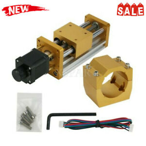 Cnc3018plus Metal Cnc Z Axis Stroke 85mm W Stepping Motor For 52mm Spindle Xr