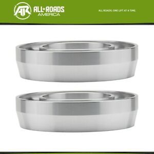 2 Front Leveling Lift Kit Fits 1988 1998 Chevy Gmc C1500 2wd Spring Spacers