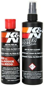 K Amp N Air Filter Cleaning Cleaner Recharger Kit With Oil Spray Can 99 5000