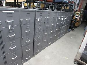 Mcdowell Craig 5 Drawer Steel Vertical File Cabinets With Bar Locks