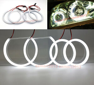 Cotton Led Halo Rings For Toyota Harrier 2003 2012 Headlight Angel Eyes Drl Lamp