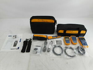 Fluke Networks Ciq ftksfp Copper And Fiber Cable Network Tester Kit For Parts