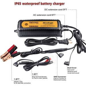 Mroinge mbc055 Smart Battery Charger 5 5a 12v 6v Automotive